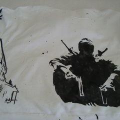 Freezer Paper Stencils