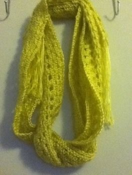 Pretty and simple scarf for NYC springtime. .  Crochet a granny square scarf by crocheting with yarn and crochet hook. Inspired by clothes & accessories. Creation posted by Jasmine Cora. Difficulty: Simple. Cost: No cost.