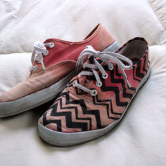 Missoni Inspired Shoes