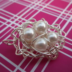 Egg Nest Pendant
