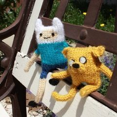Adventure Time Finn And Jake Dolls