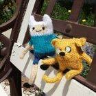 Adventure Time Finn And Jake Dolls