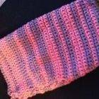 Pink And Purple Crochet Pouch