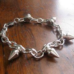 Cone Stud Spike Bracelet