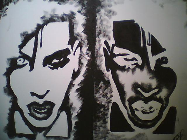 Marilyn Manson Goth Punk Painting Create A Portrait In Under 30 Minutes