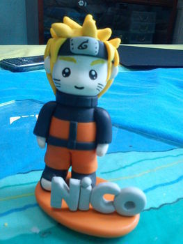 Kawaii Chibi Naruto Fig .  Mold a clay character in under 90 minutes by creating with sculpey. Inspired by costumes & cosplay, kawaii, and people. Creation posted by charity d. Difficulty: 4/5. Cost: 3/5.