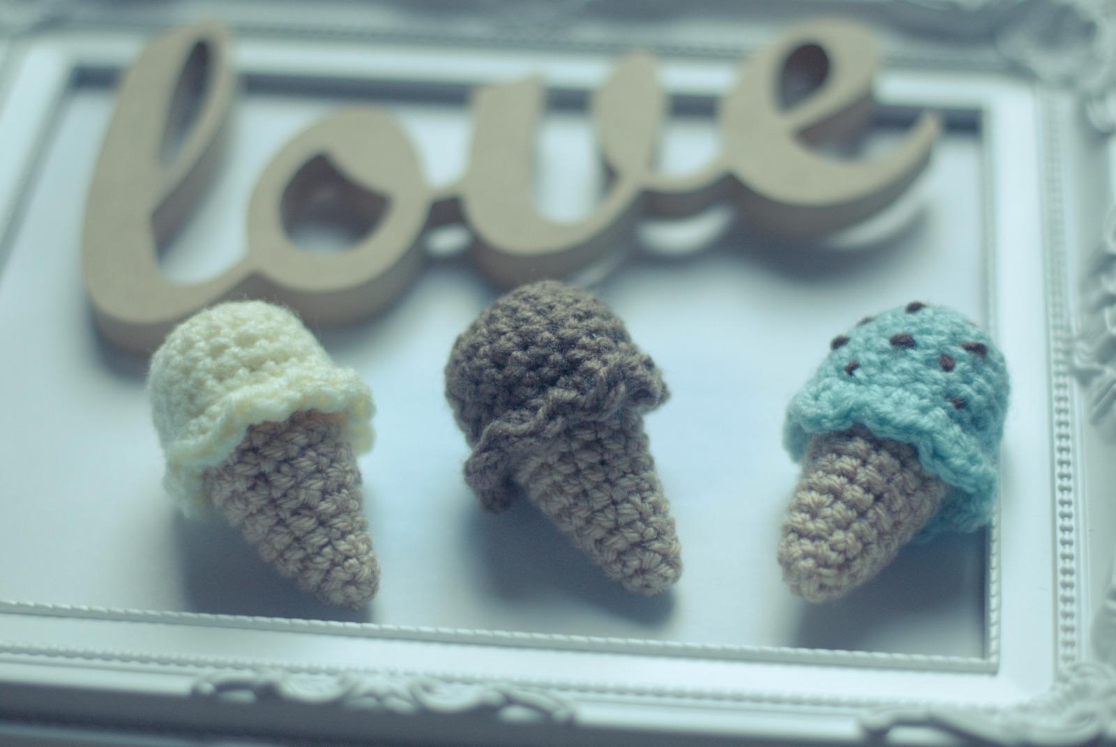 Crochet Ice Cream How To Make