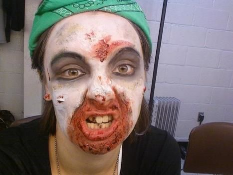 I was a Dead Hillbilly I think .  Create a face painting in under 60 minutes by applying makeup and applying makeup with makeup sealer. Inspired by zombies, costumes & cosplay, and vampires. Creation posted by Lauren . Difficulty: 5/5. Cost: 3/5.