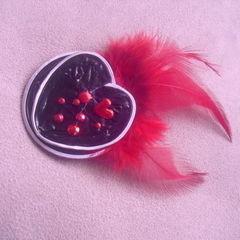 Coffee Capsules Heart Pin