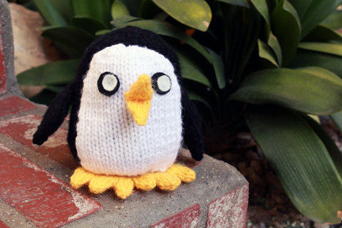 Avian minion of the Ice King. .  Free tutorial with pictures on how to make a penguin plushie in under 120 minutes by embroidering, sewing, yarncrafting, and knitting with felt, fiberfill, and poly pellets. Inspired by creatures, kawaii, and penguins. How To posted by rebecca o. Difficulty: Simple. Cost: Cheap. Steps: 2