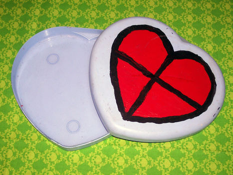 You can always use an extra heart .  Make a shaped box in under 60 minutes using paint and container. Inspired by legend of zelda and hearts. Creation posted by Autonomous. Difficulty: Easy. Cost: No cost.