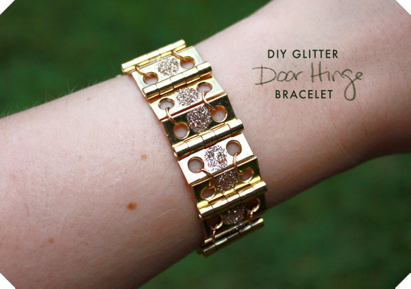 Diy Glitter Door Hinge Bracelet 183 How To Make A Hardware