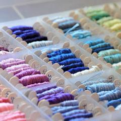Organizing Embroidery Thread