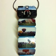 Mini Photo Album Tin