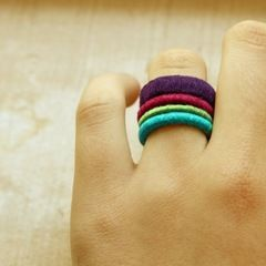 how to make a hemp ring