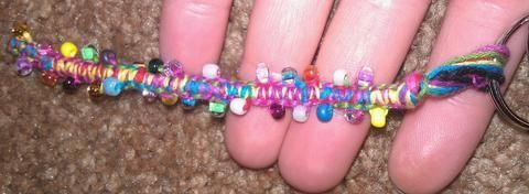 .  Make a braided charm in under 20 minutes by jewelrymaking and weaving Inspired by clothes & accessories and rainbow. Version posted by Bat Ma'am. Difficulty: Simple. Cost: Cheap.