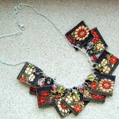 Decorative Ribbon Necklace