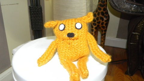 .  Make a Jake plushie in under 180 minutes by amigurumi and knitting Inspired by kawaii and adventure time. Version posted by Kim H. Difficulty: Easy. Cost: Absolutley free.