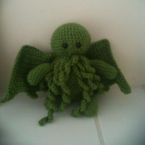 Crochet Cthulhu A Food Plushie Yarn Craft Crochet And