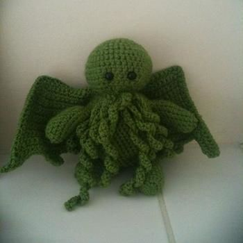 Crochet Cthulhu A Food Plushie Yarn Craft Crochet And