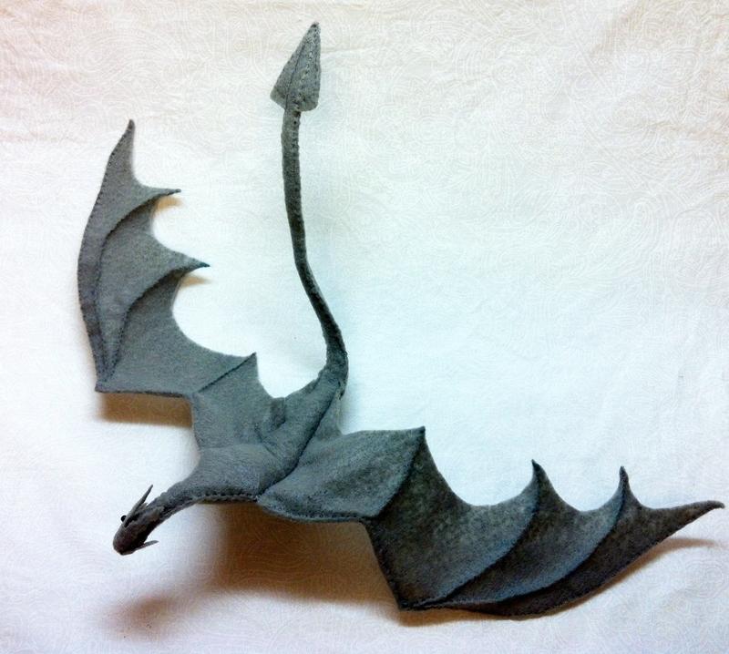 Skyrim Paarthurnax Dragon Plushie 183 A Food Plushie