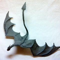 Skyrim Paarthurnax Dragon Plushie
