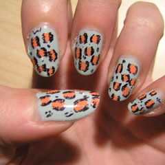 Leopard Nail Painting Tutorial