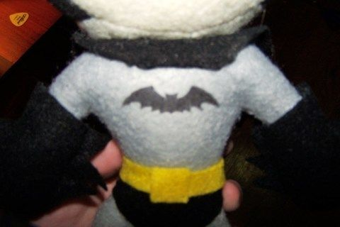 For my boyfriend's 22nd birthday  .  Free tutorial with pictures on how to make a food plushie in under 60 minutes by constructing, transfering, and sewing with felt, thread, and fabric glue. Inspired by batman, domo kun, and domo kun. How To posted by Yvonne. Difficulty: 3/5. Cost: 3/5. Steps: 1