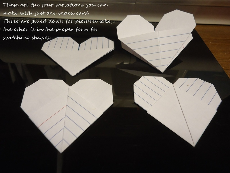 index card craft ideas origami index card 183 how to fold an origami shape 4752