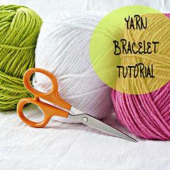 Diy Yarn Bracelet