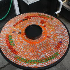 Upcycle An Old Table With Pull Tabs