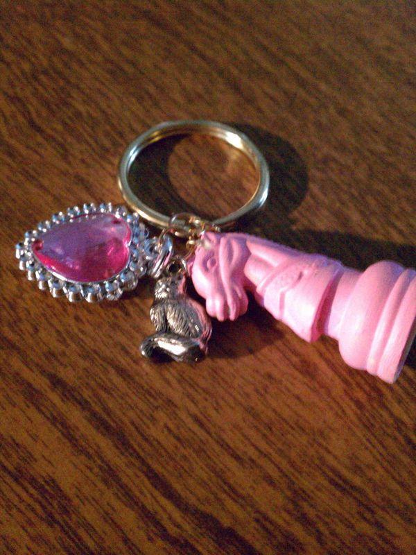 Girly Girl Keychain 183 A Toy Charm 183 Creation By Lau5ren