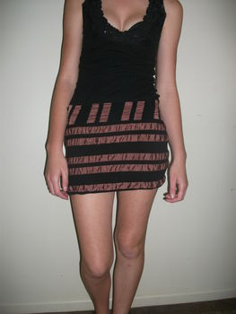 Simple to make.. fun to wear ;) .  Free tutorial with pictures on how to make a mini skirt in under 30 minutes by sewing with fabric, zipper, and sewing equipment. Inspired by clothes & accessories. How To posted by Peggals <3. Difficulty: Easy. Cost: Absolutley free. Steps: 7