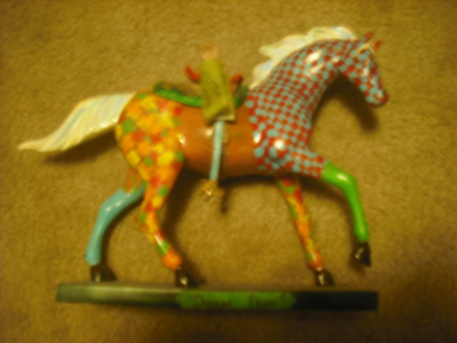 Chinese Horse Art A Model Decorating On Cut Out Keep Creation By A Esget