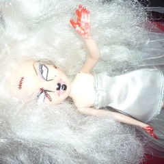 Black Tears,Bloody Hands 'N' Stitches Custom Doll