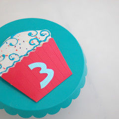 Cupcake Invitations With Sprinkles
