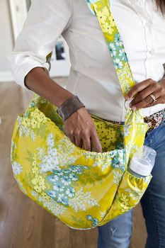 This feature-rich bag will give mums a helping hand on family outings. .  Free tutorial with pictures on how to make a bag in under 180 minutes by sewing with zipper, cotton, and velcro. Inspired by babies. How To posted by FW Media. Difficulty: Simple. Cost: 3/5. Steps: 16