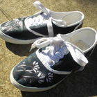 Floral Painted Shoes