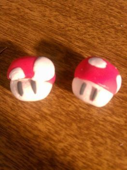 .  Sculpt a set of clay character earrings in under 7 minutes Inspired by super mario and clothes & accessories. Version posted by Lau5ren. Difficulty: Simple. Cost: No cost.