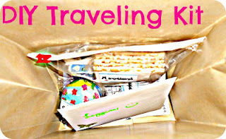 .make traveling less boring! .  Free tutorial with pictures on how to make a travel accessory in under 30 minutes using card and paper bag. How To posted by Lima. Difficulty: Easy. Cost: Absolutley free. Steps: 4