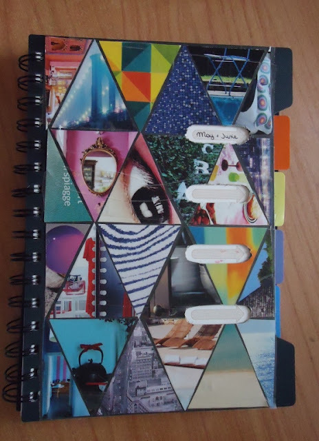 Diy Sketchbook Cover : Notebook cover redo · how to decorate a collage