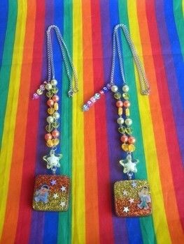 Lots of glitter, color and splendor! <3!  .  Make a resin pendant by beading and resinworking with glitter, stickers, and resin. Inspired by sesame street, kawaii, and clothes & accessories. Creation posted by Boo_its_Brittany. Difficulty: 4/5. Cost: 4/5.