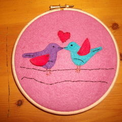 Two Birds Embroidery