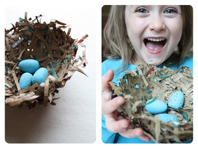 Brown Bag Bird S Nest 183 How To Make A Paper Model