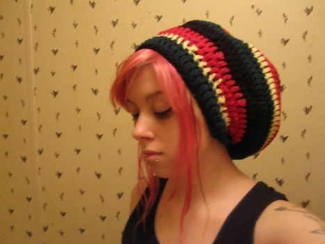 :) .  Make a beret in under 90 minutes by hairstyling and crocheting with scissors, crochet hook, and worsted weight yarn. Inspired by clothes & accessories. Creation posted by Willow.  in the Yarncraft section Difficulty: Simple. Cost: Cheap.