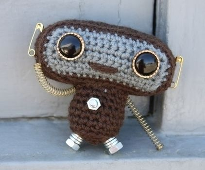 .  Make a food plushie by crocheting and amigurumi Inspired by domo kun, domo kun, and domo kun. Version posted by Rachel P. Difficulty: 3/5. Cost: Absolutley free.