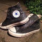 Diy Glitter Converse
