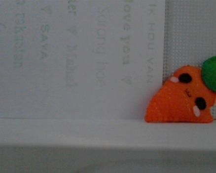A cute, kawaii carrot!  .  Free tutorial with pictures on how to sew a vegetable plushie in under 30 minutes by sewing with felt, thread, and stuffing. Inspired by creatures, kawaii, and carrot. How To posted by Jay .. Difficulty: Easy. Cost: Absolutley free. Steps: 7
