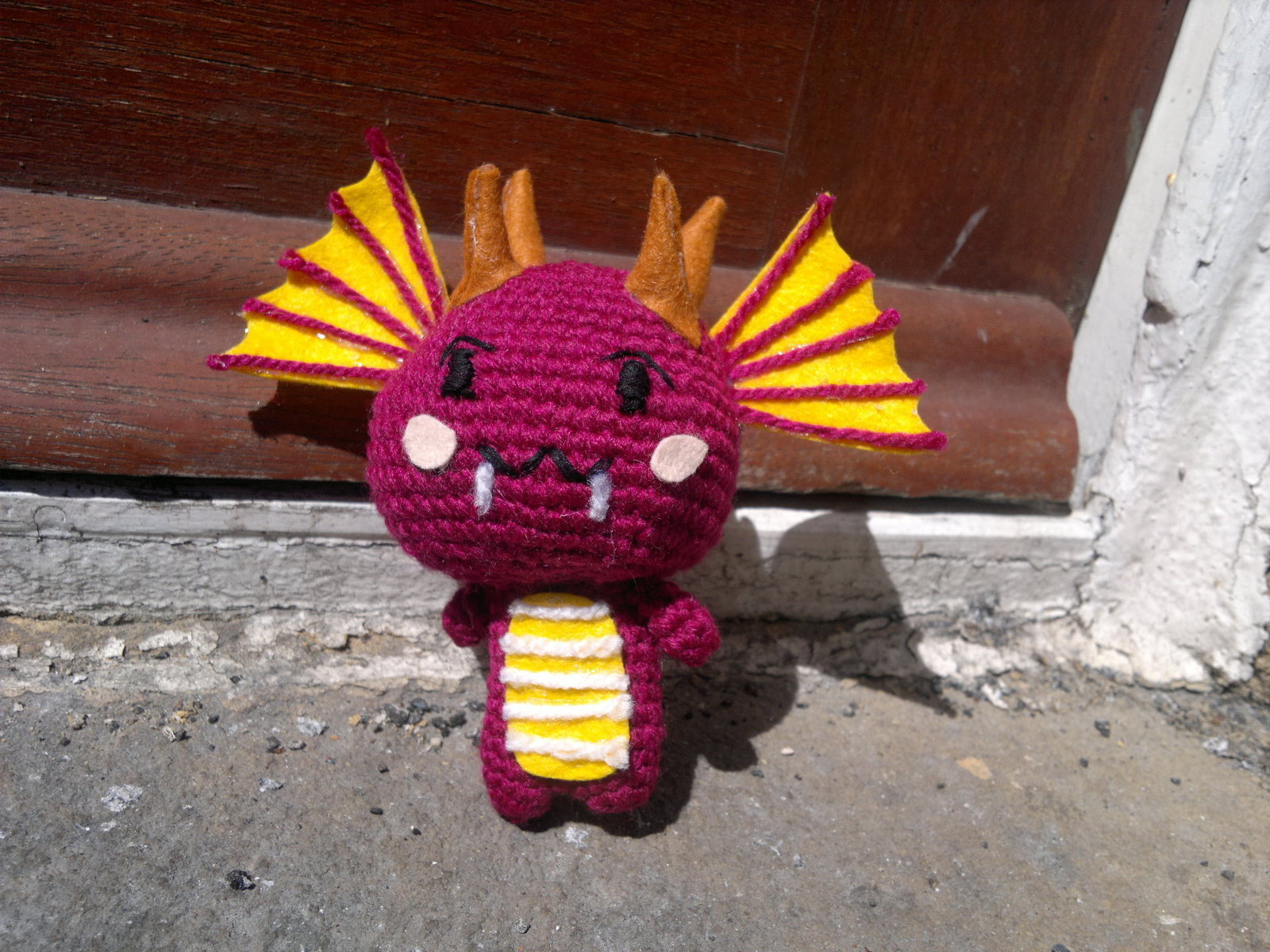 Amigurumi Chinese Dragon : Chibi Chinese Dragon Amigurumi ? A Food Plushie ? Crochet ...