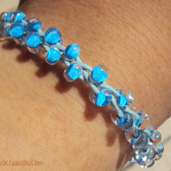 how to make braided bracelets out of string